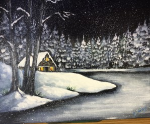Interested in a NEW WINTER HOBBY?  PAINT, PAINT, PAINT!