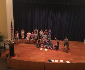 "Library Summer Youth Theatre Play  Production "" A Night with Dr. Seuss"""