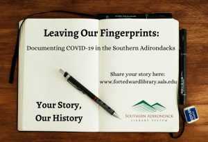 Link to Leaving our Finger Prints survey about Covid-19